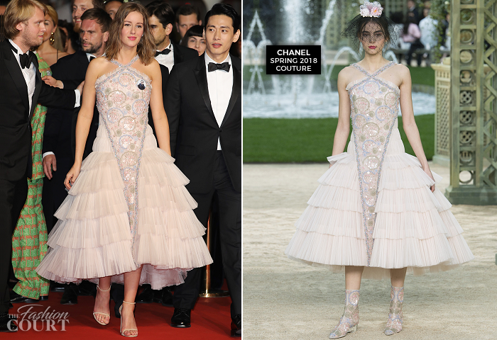 Irina Starshenbaum In Chanel Couture Cannes Film Festival 2018 Leto Premiere The Fashion Court A guide outfit templates, fashion drawing for clothing designers, volume.1: