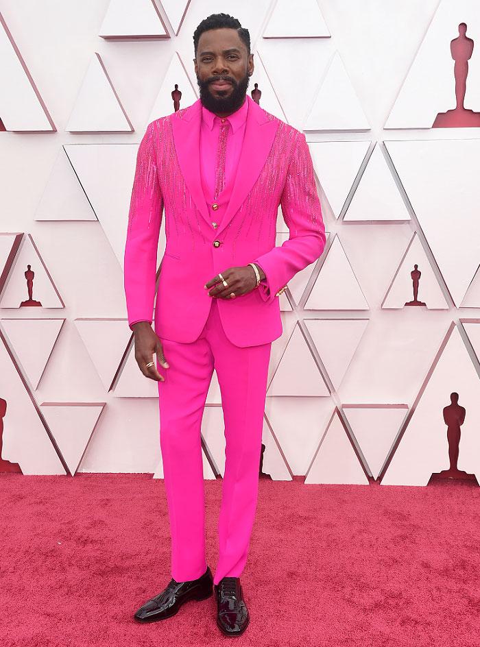 Colman Domingo in Atelier Versace | 2021 Oscars – The Fashion Court